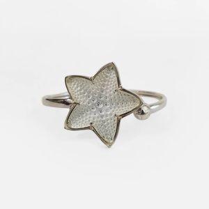 Lalique Crystal Starfish Bracelet